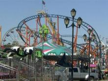 Rides ready for fun at the NC State Fair
