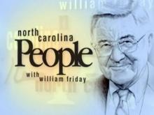 North Carolina People with William Friday logo