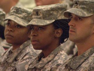 On Sunday, Oct. 21, 2012, family and friends said goodbye to about 100 servicemen and women in an emotional farewell ceremony in Louisburg for a National Guard unit deploying to Egypt.