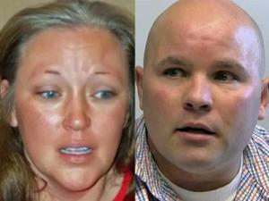 Leslie Tiesler and her ex-husband, Brad Thill