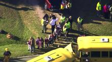 IMAGES: School buses collide in Franklin County