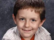 Adam Kempf is pictured in a photo from elementary school.