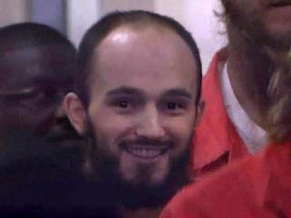 2009 photo of Hysen Sherifi after his arrest in a Triangle-based terrorism plot.
