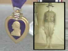 Purple Heart for Pfc. Noah Bullock