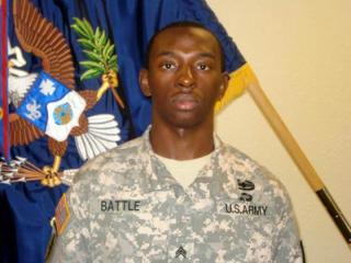 Staff Sgt. Rayvon Battle Jr.