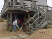 Kitty Hawk residents continue recovery efforts after Sandy