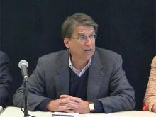 McCrory to be sworn in Jan. 5