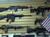 Assault guns, assault rifles, assault weapon, semiautomatic weapon