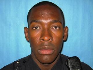 Durham police officer Kelly A. Stewart was shot in the leg during a  traffic stop on Dec. 18, 2012.