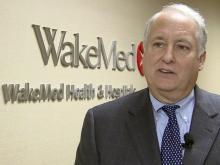 WakeMed CEO Dr. Bill Atkinson