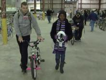 'Bicycle man' holds annual giveaway Friday