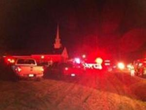 Rockingham County authorities are investigating two church fires two nights in a row, one of which was ruled arson, WFMY News in Greensboro reports.