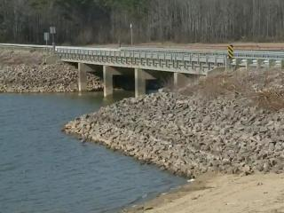 Kerr Lake seeing lower water levels