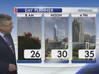 Temperatures for Tuesday, Jan. 22, 2013