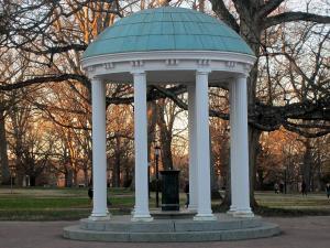 Old Well, landmark at the University of North Carolina at Chapel Hill