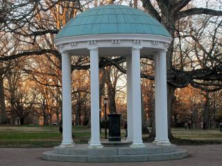 Old Well, landmark at the University of North Carolina at Chapel Hill