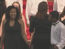 The William Peace University Singers performed a benefit concert Wednesday night.