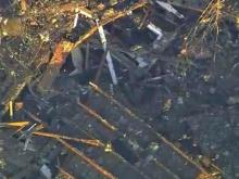 Sky5: Fayetteville home destroyed by explosion