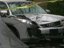 stolen car, crash