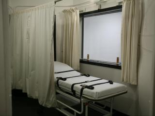 The death chamber at Central Prison in Raleigh, which houses the state's death row.