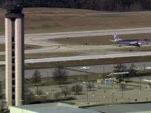 RDU airport control tower