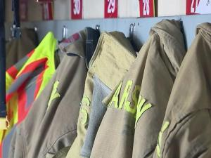 A quartet of Duplin County firefighters needed medical attention Friday, both to treat their symptoms and to solve the mystery of what made the men's eyes and lungs burn.