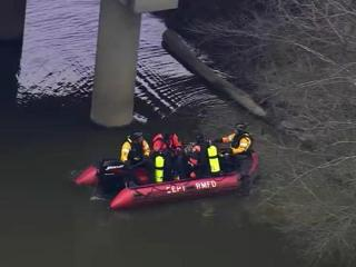 A Nash County dive team begins searching the Tar River on March 21, 2013, after a car found nearby was left running. The body of Cameron Edward Jones, 25, of Upper Marlboro, Md., was found hours later.