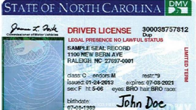 north carolina drivers permit test