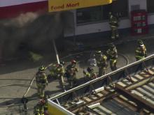 Raw: Raleigh convenience store fire