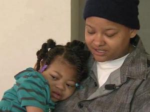 Kristie Hammonds daughter, Cristiana, is severely disabled after being shaken by a babysitter.
