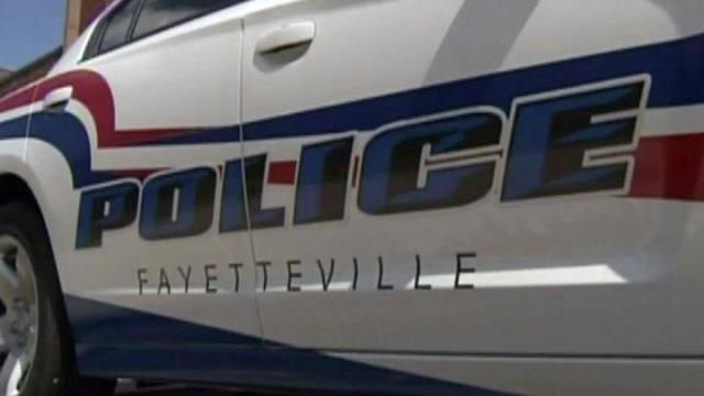 Fayetteville Police Department cruiser