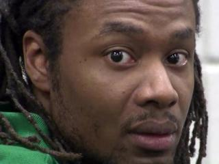 Mario Andrette McNeill listens as jury selection proceeds on April 9, 2013, for his capital murder trial. McNeill is charged with raping and killing 5-year-old Shaniya Davis in November 2009.