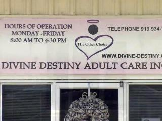 Divine Destiny is the only adult day care center in Johnston County for people with mental and or physical disabilities.