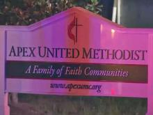 Fire damages portion of Apex church