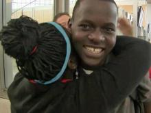 Durham family opens home to brother of adopted Ugandan girl