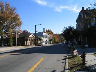Hillsborough NC Downtown