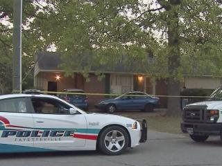Three men are accused of killing one person and injuring another in a shooting at a Fayetteville party at this house on April 22, 2013.