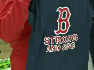Singing in front of tens of thousands of people would be a dream for any high school chorus. But when the song is the national anthem and the venue is Boston's Fenway Park in the wake of last week's marathon bombings, the significance becomes that much greater.