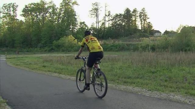 The 28-mile Neuse River Trail was officially dedicated Thursday, giving the City of Raleigh another reason to shine.