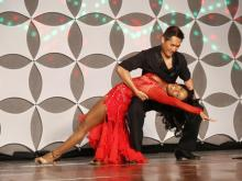 """WRAL's Michelle Marsh was among the contestants who competed for charity in """"Dancing Like the Stars"""" during the Southern Women's Home Show on April 27, 2013."""