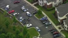 IMAGES: Quiet NE Raleigh complex shaken by shooting