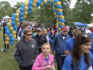 More than 1,500 people gathered Saturday, May 4, 2013 on the Dorothea Dix campus  for an annual walk and fundraiser.