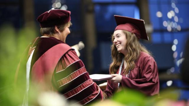 Meredith College graduation, May 11, 2013