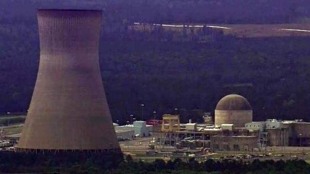 The Shearon Harris nuclear plant in southwest Wake County
