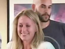 Boston bombing victim returns home to NC