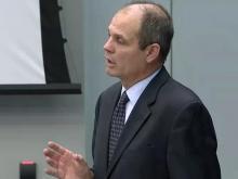 Defense attorney Amos Tyndall