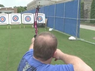 The Valor Games include an archery competition.