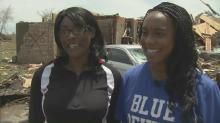 IMAGE: Duke soccer player, family on road to recovery in Moore, Okla.