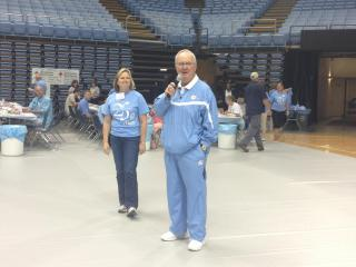 The University of North Carolina marks its 25 annual Carolina Blood Drive on Tuesday, June 4, 2013.