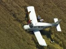 A small plane went down Thursday in a Granville County field.